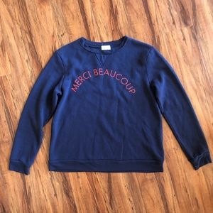 Project Social T | Merci Beaucoup Sweater
